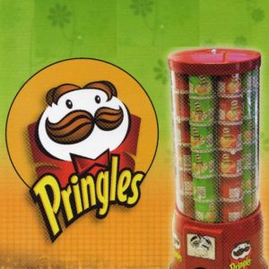 "Automat Na ""Puszki"" Pringles Chipsy"