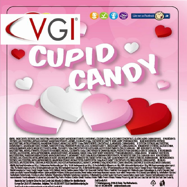 Cupid candy play card