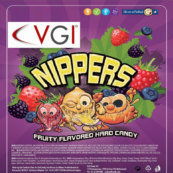 Nippers candy play card