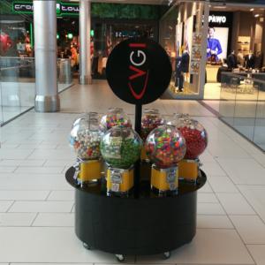 Kiosk for 8 automats
