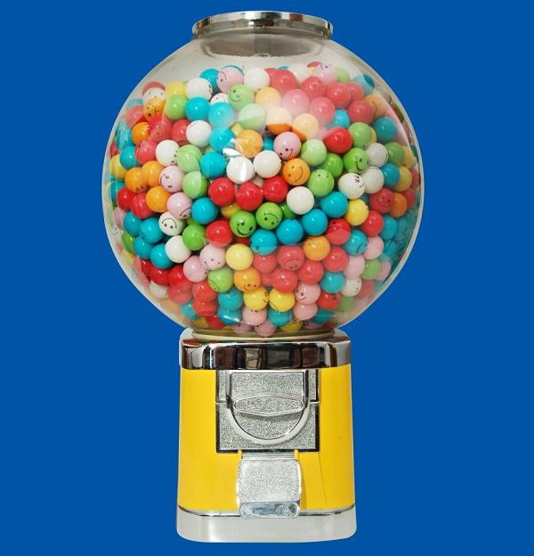 Automat do sprzedaży Wielki Glob kuli 1